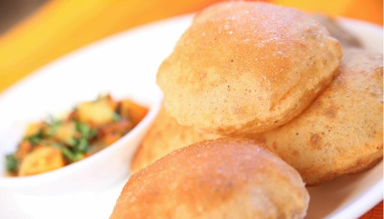 N & F Food Aloo Puri